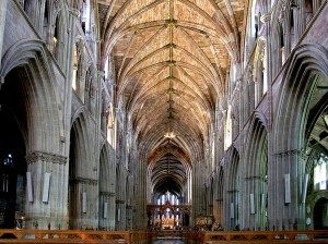 nave-worcester-cathedral-uk Three CHoirs