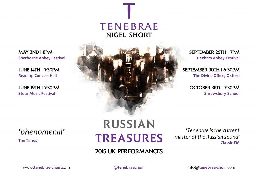 Russian Treasures 2015 UK Performances