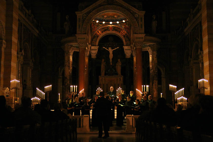 Tenebrae Cathedral Basilica St Louis 2012