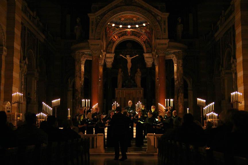 Tenebrae Cathedral Basilica St Louis 2012