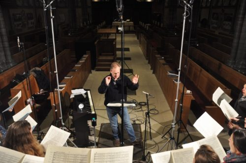 Brahms and Bruckner Motets – Recording Sessions January 2015