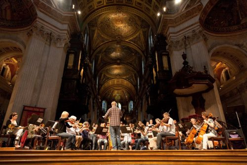 Fauré Requiem (rehearsal at St Paul's)