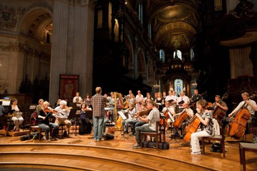 Fauré Requiem (rehearsal at St Paul's 2)