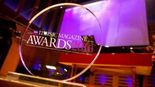 BBC Music Magazine awards 2016