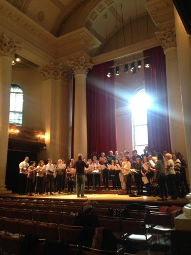 Tenebrae's 'Music of the Spheres' workshop in St John's Smith Square.