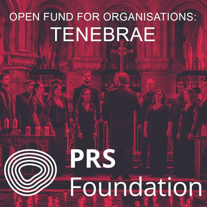 We are delighted to be supported by @prsfoundation ..Acclaimed composer and Tenebrae superstar @jsphnstphnsn will create a brand new piece for our colossal twentieth anniversary programme 'Humanity and Liberty', touring soon! ..#tenebrae #choir #anniversary #newmusic #newmusicfriday #comingsoon