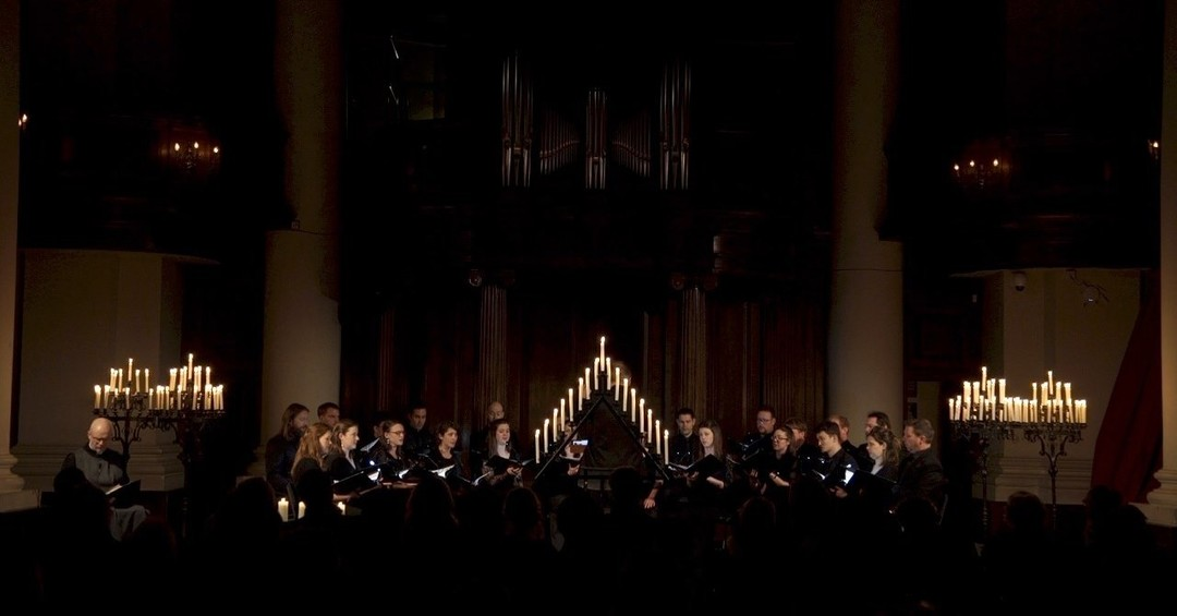 With no income from ticket sales, we need your help to take the atmospheric performances at this year's #HolyWeekFestival online, and make them free for everyone to enjoy🕯️ ..Please support the @crowdfunderuk campaign in our bio..#tenebrae #choir #streaming #onlineconcerts #services #Lent #Easter