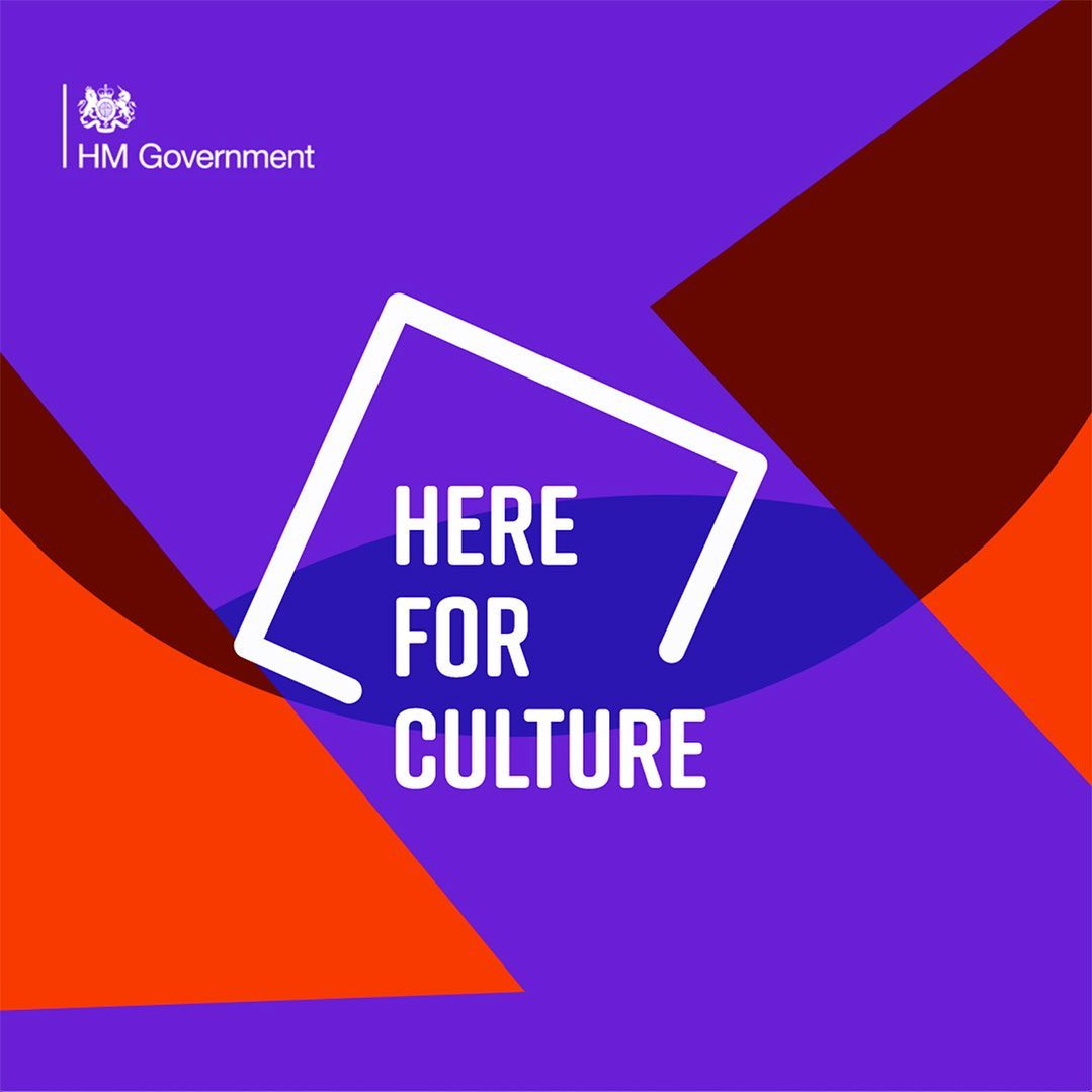 We are hugely relieved and excited to have been awarded support from the Culture Recovery Fund - thank you @dcmsgovuk & @aceagrams! This grant comes at a crucial time, enabling us to deliver several creative projects over the next few months and get back on our feet...#HereForCulture